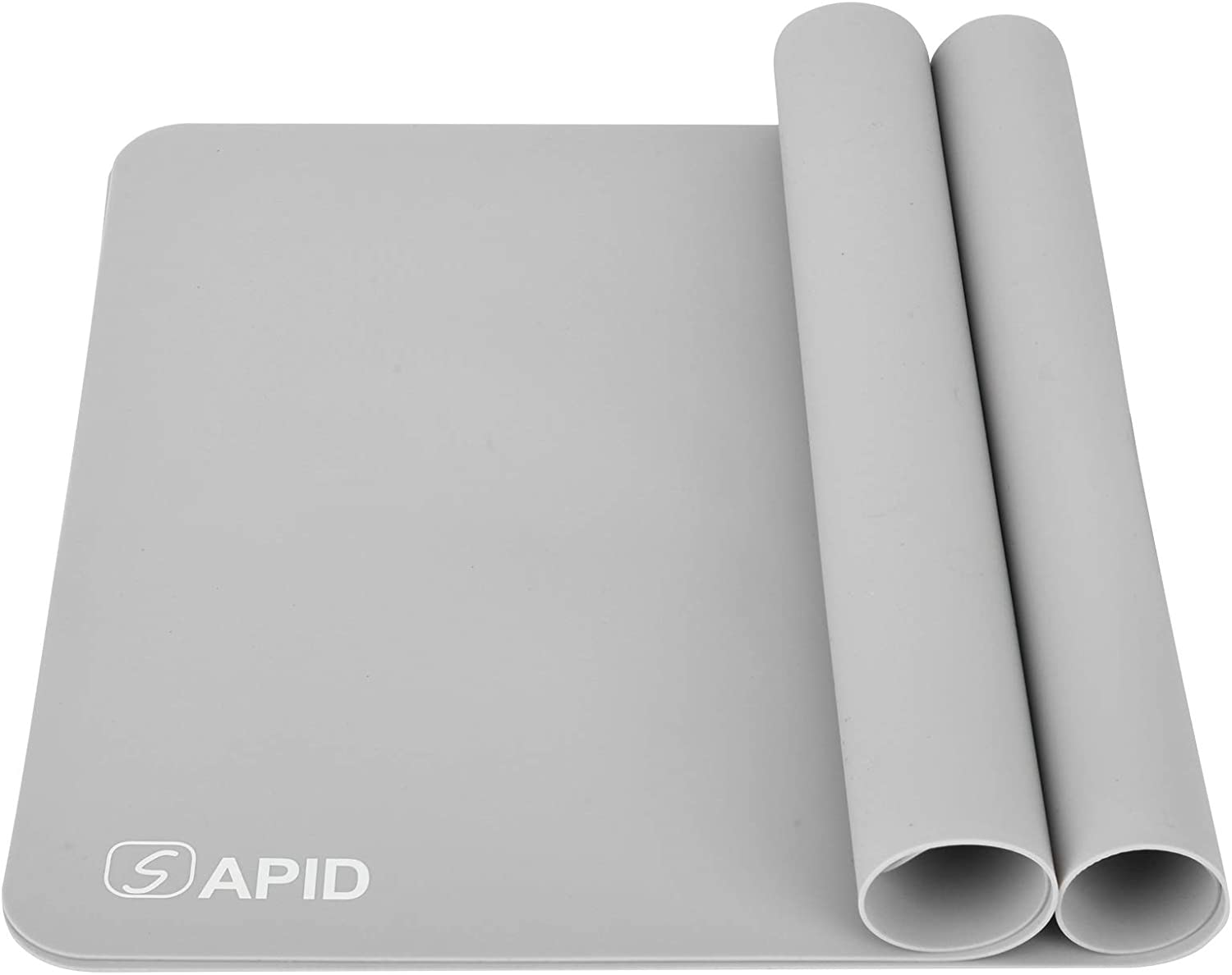 Sapid 2Pcs Thick Silicone Mat for Crafts(15.7