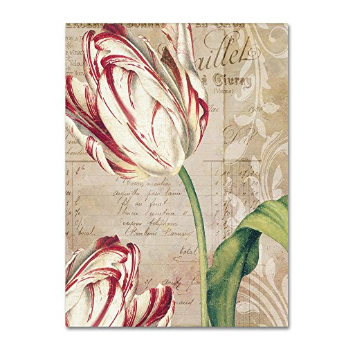 Tulips by Color Bakery Cute- Tulip Canvas Wall Art