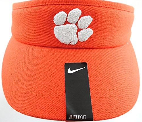 - Clemson Tigers Nike Sideline Coaches Dri-FIT Adjustable Performance Visor - Orange