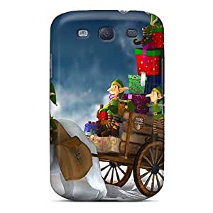 Tpu NikRun Shockproof Scratcheproof Gifts For Christmas Hard Case Cover For Galaxy S3