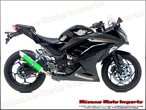 2013 - 2014 Kawasaki Ninja 300R musarri Slip On Escape ...