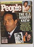 O.J. Simpson, Gabrielle Carteris (Beverly Hills, 90210), Philip Treacy - July 4, 1994 People Weekly Magazine