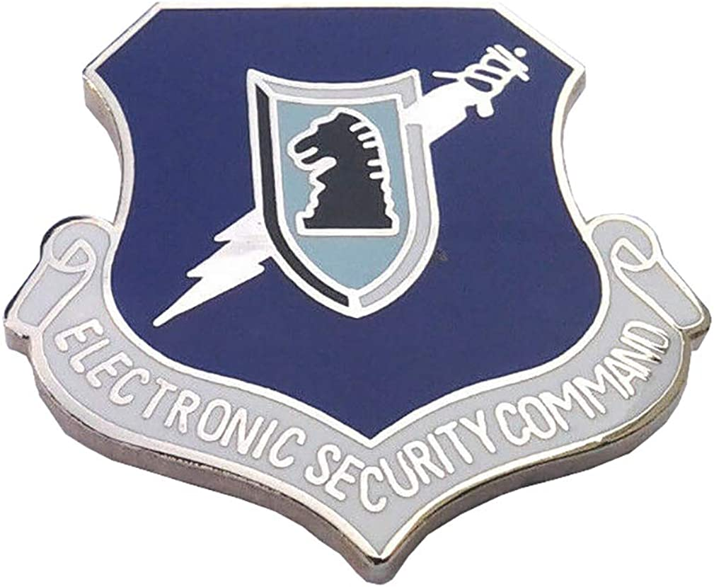 OnlyUS Electronic Security Command Military Veteran US AIR Force Hat Pin