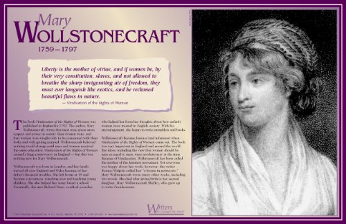 Mary Wollstonecraft- Writers Who Changed the World - Poster ()