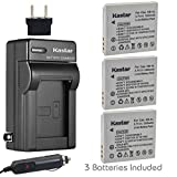 canon elph 330 hs battery - Kastar Battery (3-Pack) and Charger Kit for Canon NB-4L, CB-2LV work with Canon PowerShot SD40, SD30, SD200, SD300, SD400, SD430, SD450, SD600, SD630, SD750, SD780 IS, SD940 IS, SD960 IS, SD1000, SD1100 IS, SD1100 IS, SD1400 IS, TX1, ELPH 100 HS, ELPH 300 HS, ELPH 310 HS, ELPH 330 HS, VIXIA mini Cameras