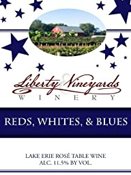 NV Liberty Vineyards & Winery Reds, Whites & Blues Lake Erie 750mL