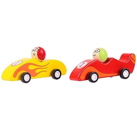 Bigjigs Toys Macchinine da Corsa a retrocarica (Confezione ...