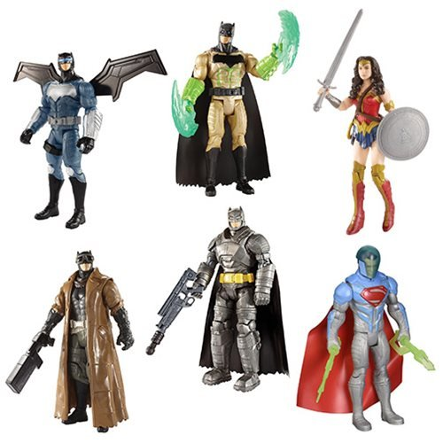 Batman v Superman 6-Inch Figures Wave 5 Basic Figure Case