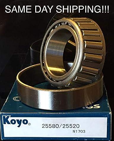 K3-110 5,200-7k lb.Trailer Bearing Kit 25580//20 15123//15245 Bearings 10-10 Seal