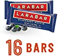 Larabar Gluten Free Snack Bars, Blueberry Muffin, 1.6 Ounce Bars (16 Count)