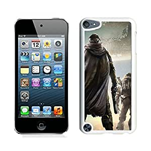 Popular And Unique Custom Designed Case For iPod Touch 5 With Destiny Game White Phone Case