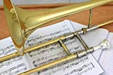 Ravel By Blessing RTB521L Student Trombone Outfit, ABS - Lacquer