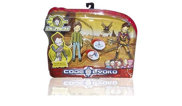 Código Lyoko - Set 2 Figuras: Real + Virtual (Simba) 3089069 ...