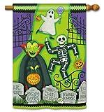 Cheap Monster Mash Halloween House Flag