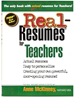 Expert resumes for teachers and educators 3rd ed wendy s enelow real resumes for teachers thecheapjerseys Choice Image