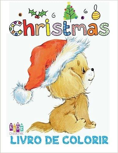 Natal Livro De Colorir Livros Infantis De Colorir Livro