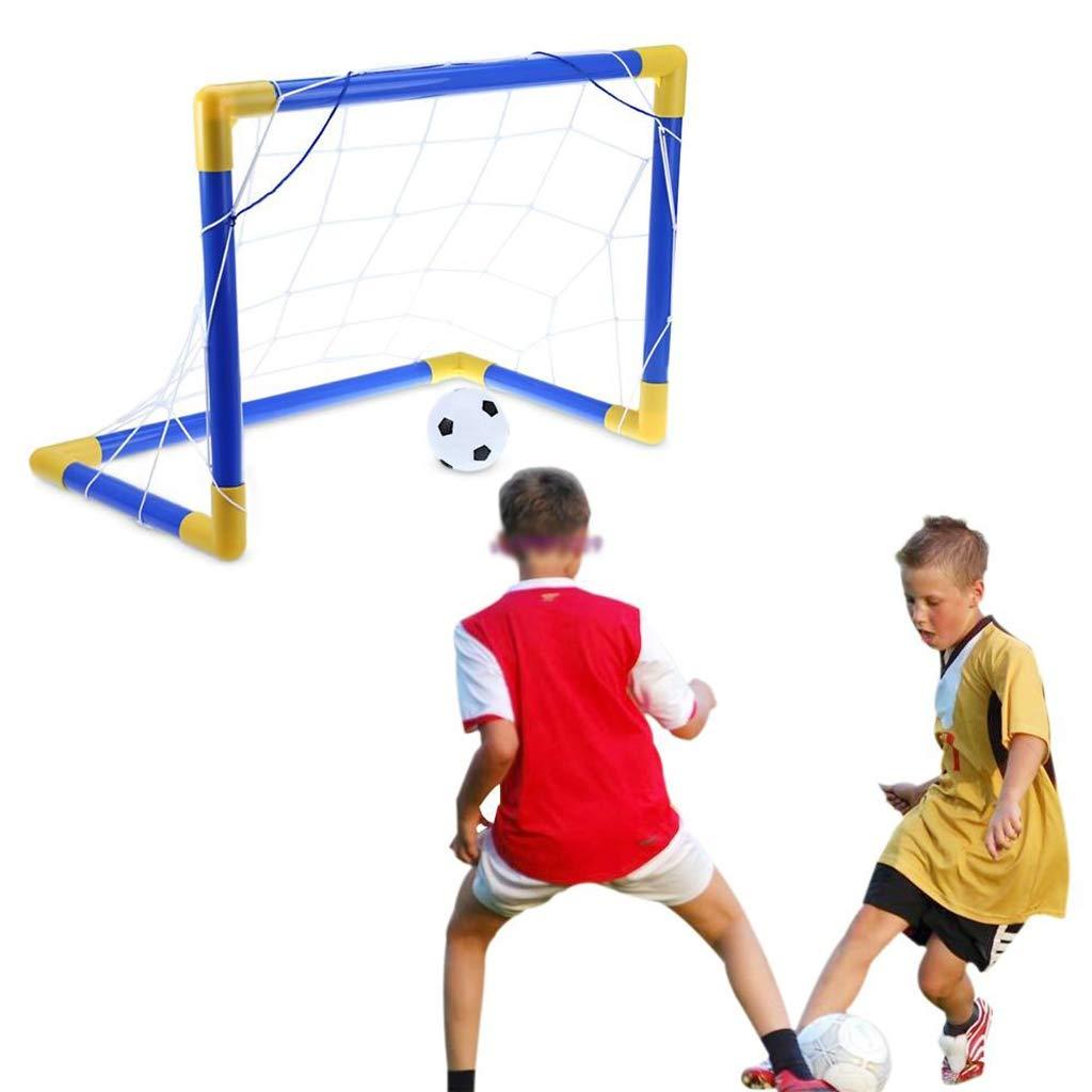 Lahshion Inflatable Mini Football Games Toys Soccer Goal Post Net Set by Lahshion