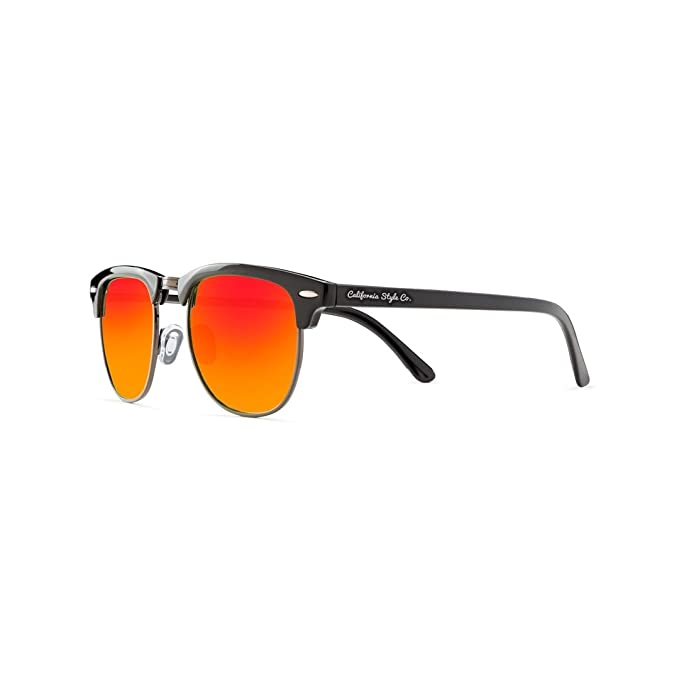 California Style Co Charly Sheen, Gafas de Sol Unisex, Naranja, 140