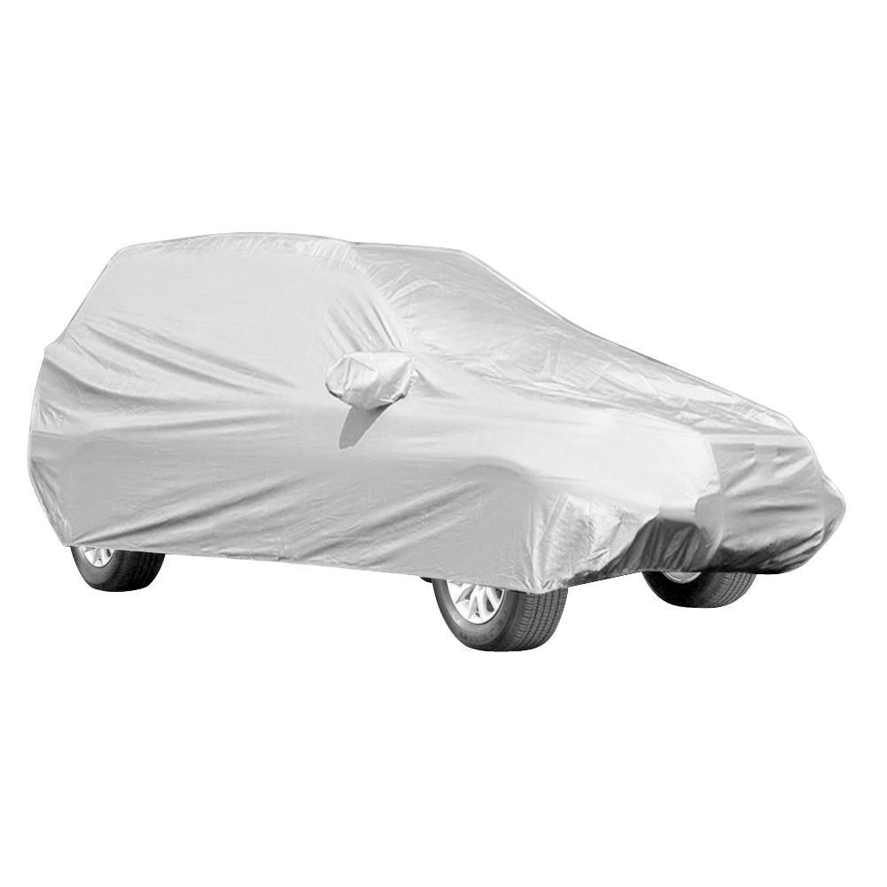 GOTOTOP Extra Grande Cubierta Completa de Coche Respirable a Prueba de Polvo Impermeable UV Protecció n Funda para Vehí culos Todoterreno SUV