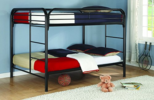 Morgan Full over Full Bunk Bed Black