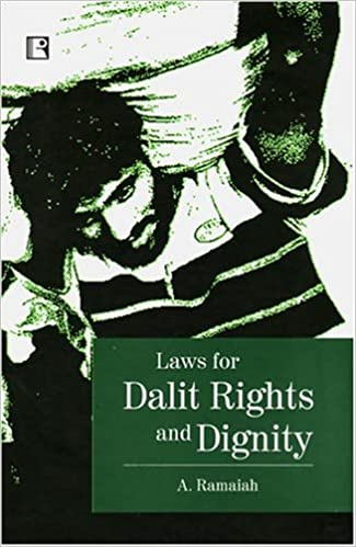 Book Laws for Dalits Rights and Dignity