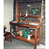 Woodworking Project Paper Plan to Build Potting Table