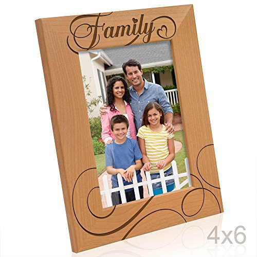 Kate Posh - Family Picture Frame (4x6-Vertical) -