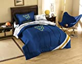 NCAA West Virginia Twin Comforter, Sheets and Sham (5 Piece Bed in a Bag)