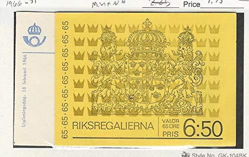 Sweden, Postage Stamp, 698a, 903 Mint NH Booklets, 1966-71, JFZ