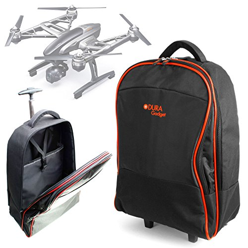 - DURAGADGET Lightweight Trolley Style Carry Case Compatible with Yuneec Typhoon Q500