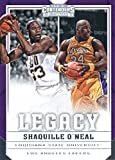 #1: Basketball NBA 2017-18 Panini Contenders Draft Picks Legacy #29 Shaquille O'Neal