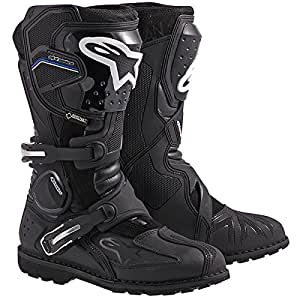 Alpinestars Toucan Gore-Tex Men's Weatherproof Motorcycle Touring Boots (Black, US Size 11)