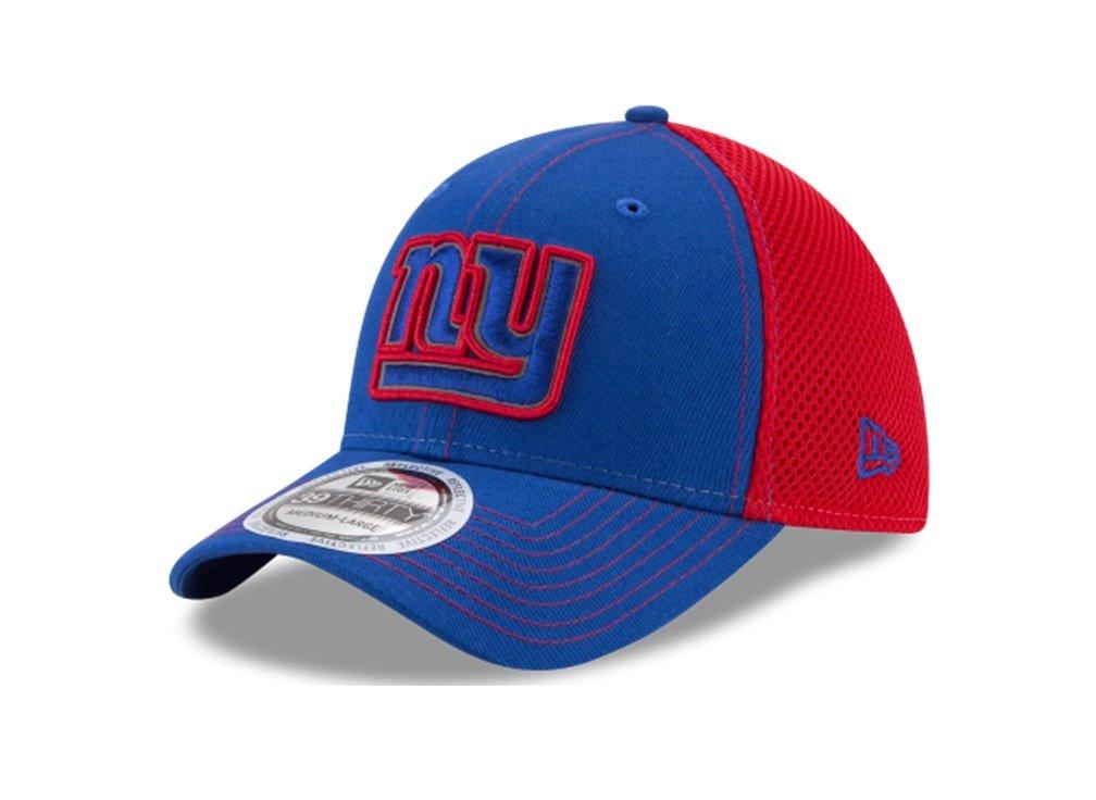 NFL Pop Flect 39thirty Stretch Fitキャップ Medium/Large New York Giants B01N6XFNWP
