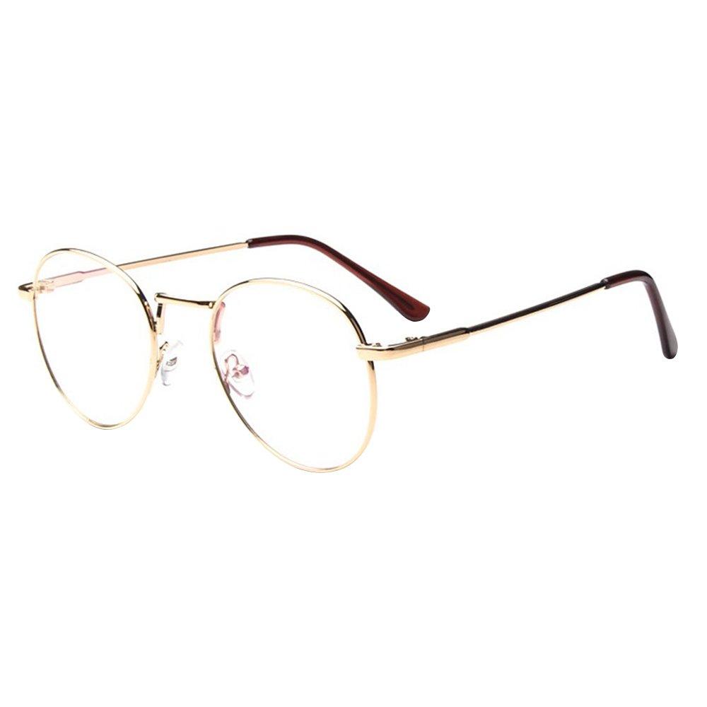 Forepin® Unisex Ovale Montatura Occhiali da Vista Occhio Frame Struttura Vetri Ottici Pianura rotond...