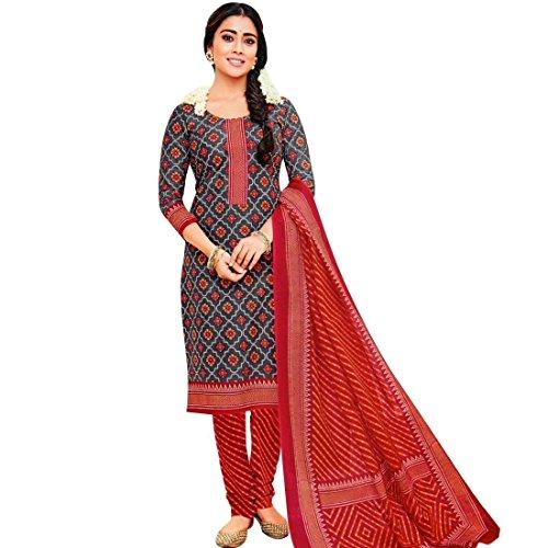 Printed Salwar (Readymade Ethnic Cotton Printed Salwar Kameez Indian Dress Suit)