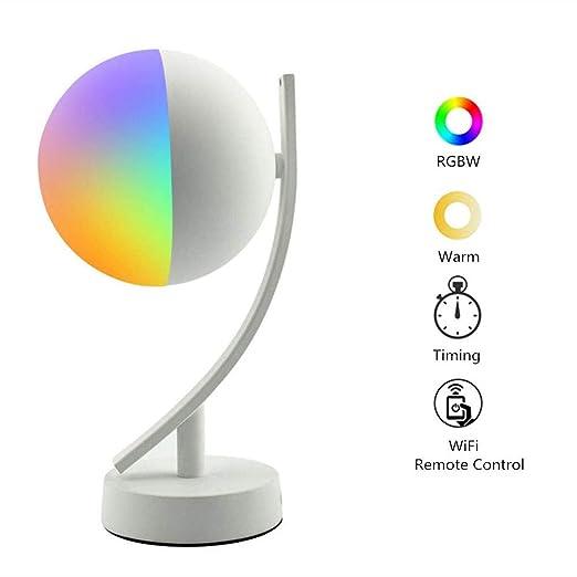 NBZH Lámpara de Mesa Inteligente Compatible con Alexa Google ...