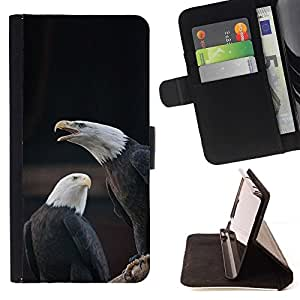 Momo Phone Case / Flip Funda de Cuero Case Cover - American National Symbole - LG G4c Curve H522Y (G4 MINI), NOT FOR LG G4