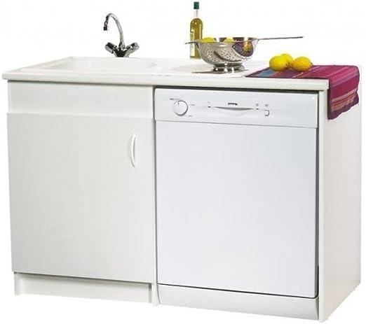 Neova-Mueble bajo fregadero serie lava para lavavajillas.: Amazon ...