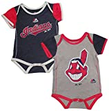 Cleveland Indians Baby / Infant 2 Piece Creeper Set