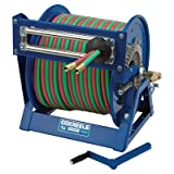 Coxreels Large-Capacity Hand-Crank Welding Reel - 3/8in. x 250ft. Hose, Model# 1275W-3-250-C