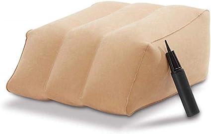 Cuscino da Viaggio Gonfiabile per poggiapiedi Cuscino per Auto per