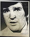1976 Press Photo John Ferguson