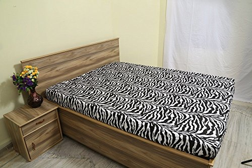 ARlinen Fitted Sheets Fit Mattress up to 16 Inch Deep Pocket-Premium Quality-Bottom Sheets 600 Thread Count Ultra-Soft Cotton Fitted Sheet Full Size Zebra Print