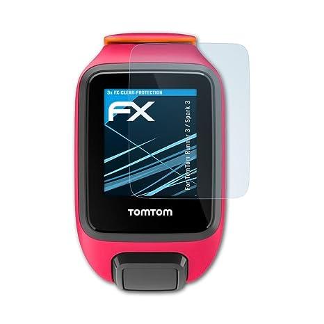 atFoliX Film Protection décran Compatible avec Tomtom Runner 3 / Spark 3 Protecteur d