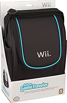 Nintendo Wii Deluxe Game Traveler Case - Black