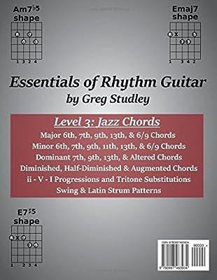 Essentials of Rhythm Guitar, Level 3: Jazz Chords: Volume 3 ...