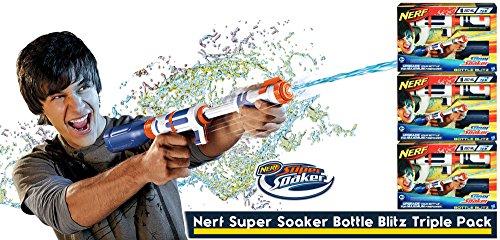 Hasbro 33596 Nerf Bottle Blitz, 3er Set