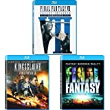 Final Fantasy VII: Advent Children, Final Fantasy XV Kingsglaive, Final Fantasy: The Spirits Within