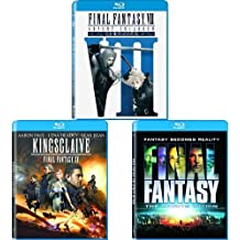 Final Fantasy VII: Advent Children, Final Fantasy XV Kingsglaive, Final Fantasy: The Spirits Within