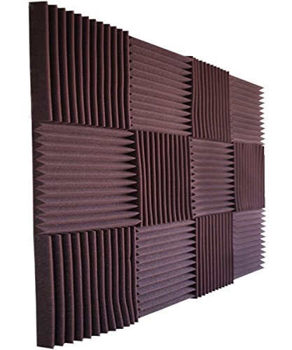 12-pack-all-burgundy-acoustic-panels-studio-foam-wedges-1-x-12-x-12